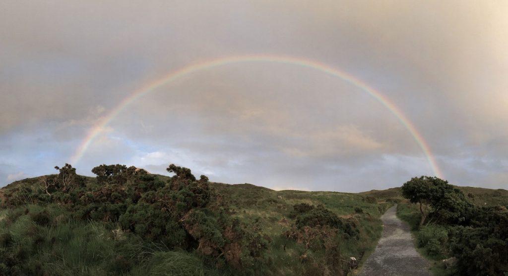 panoramic rainbow