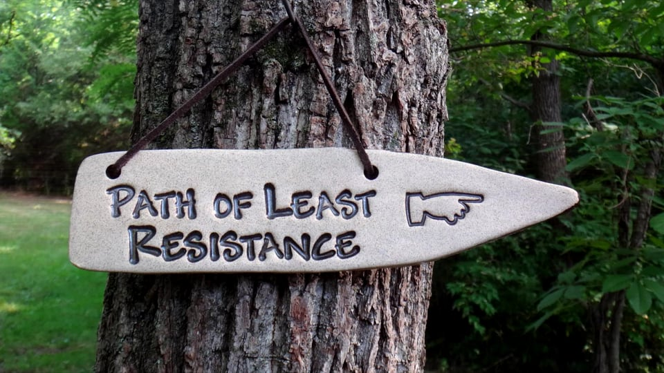path-of-least-resistance