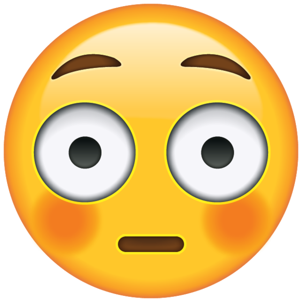 mortified emoji